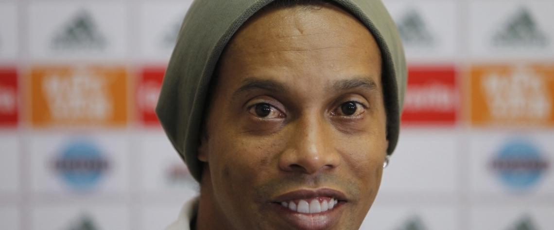 O Fluminense foi o �ltimo clube defendido por Ronaldinho, em 2015