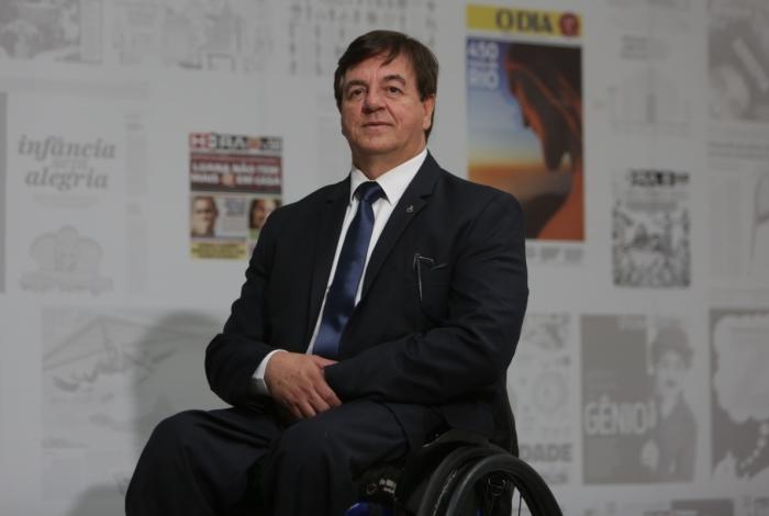 Geraldo Nogueira, subsecretário da Pessoa com Deficiência