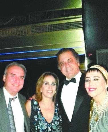 Fernando Lobo (E), colunista do DIA