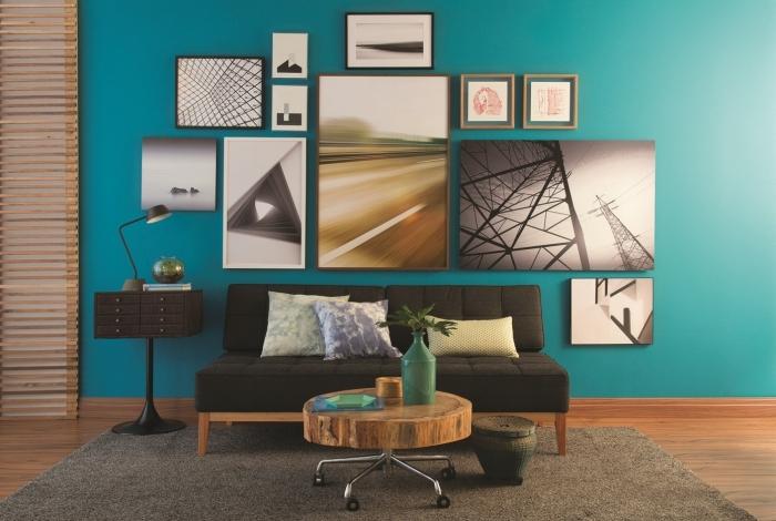 Opções de quadros criativos  e orientações de como usar em vários ambientes da casa