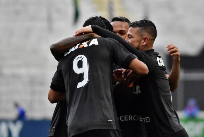 Gol de Brenner do Botafogo, durante partida válida pela 21ª rodada do Campeonato Brasileiro, realizado no Estádio Moisé Lucarelli, em Campinas, interior do estado de São Paulo, na tarde deste domingo, 20.