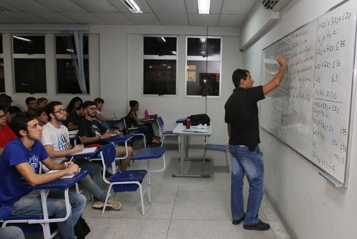 Vagas são para Administração, Engenharia de Produção, Sistemas de Informação e licenciatura em Matemática