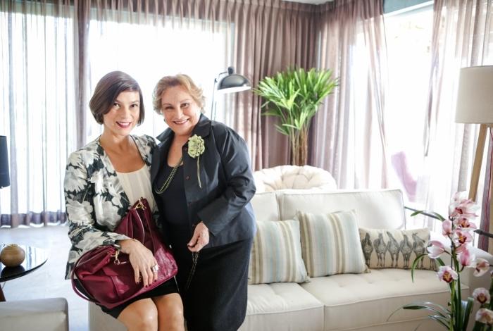 Maria Paula e Nicette Bruno