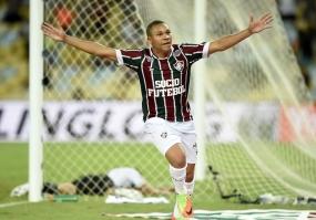 Wellington Silva marcou primeiro gol do Fluminense