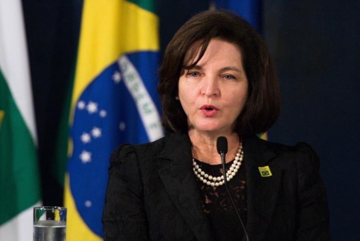 A procuradora-geral da República, Raquel Dodge, revelou ainda preocupação com a apuração da responsabilidade pelo rompimento da barragem de Brumadinho