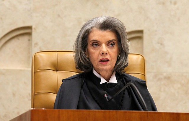 Relatora do processo, ministra Carmen Lúcia