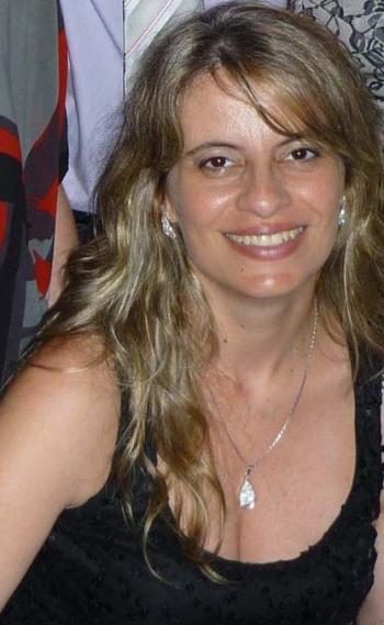 Ana Cec�lia Romeu, publicit�ria e escritora, colunista do DIA