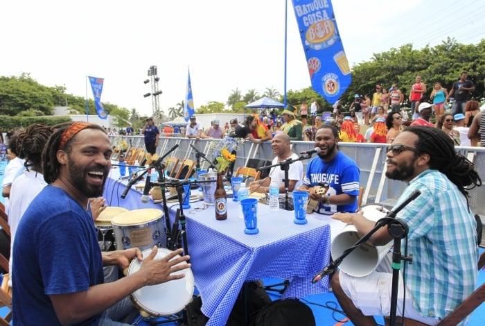Batuque de Bambas, uma das tradicionais rodas de samba da região, acontece aos domingos
