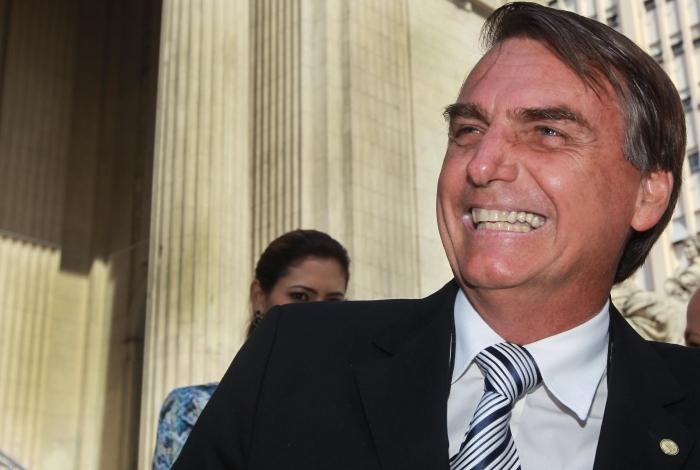 Candidato Jair Bolsonaro (PSL)
