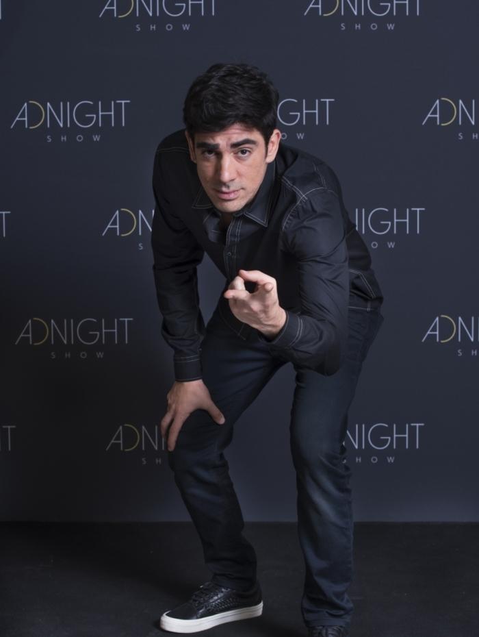 Marcelo Adnet do 'Adnight Show'