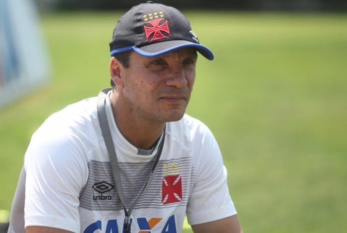 O técnico Zé Ricardo supera até o Fluminense, time que mais empatou neste Campeonato Brasileiro: 13 vezes