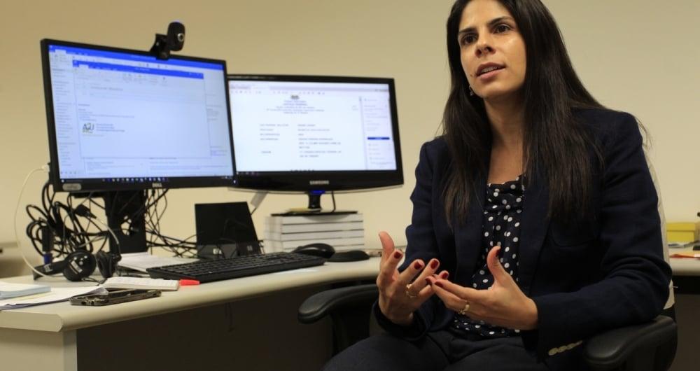 Procuradora federal e coordenadora da força-tarefa, Nara Levy assegura que acordos são vantajosos