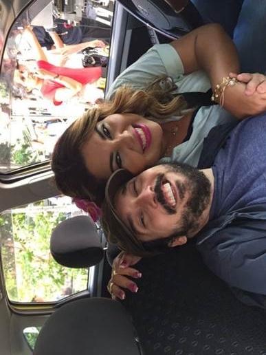 Gigante Léo e Fabiana Karla