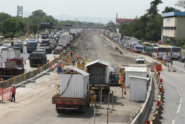 Obras do BRT Transbrasil, de Deodoro ao Caju, estão em andamento e têm previsão de entrega em junho