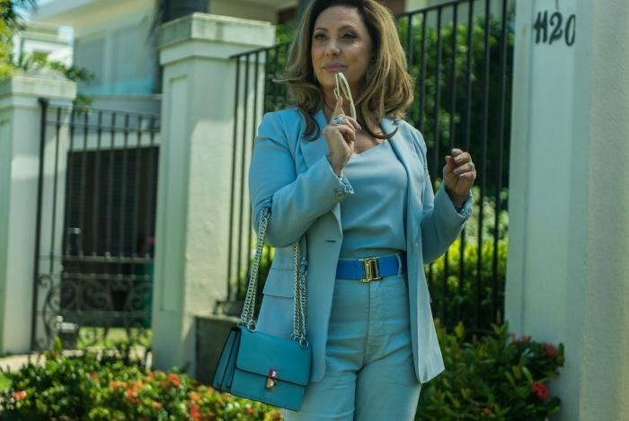Eliane Giardini como Nádia em 'O Outro Lado do Paraíso'