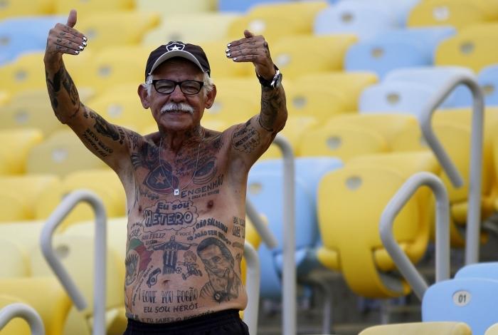 Torcedor símbolo do Botafogo, Delneri Gonçalves faleceu aos 76 anos