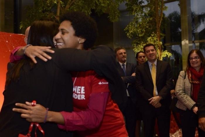 A carioca Eliza Gurgel está entre os aprovados na seleção de trainees do banco Santander