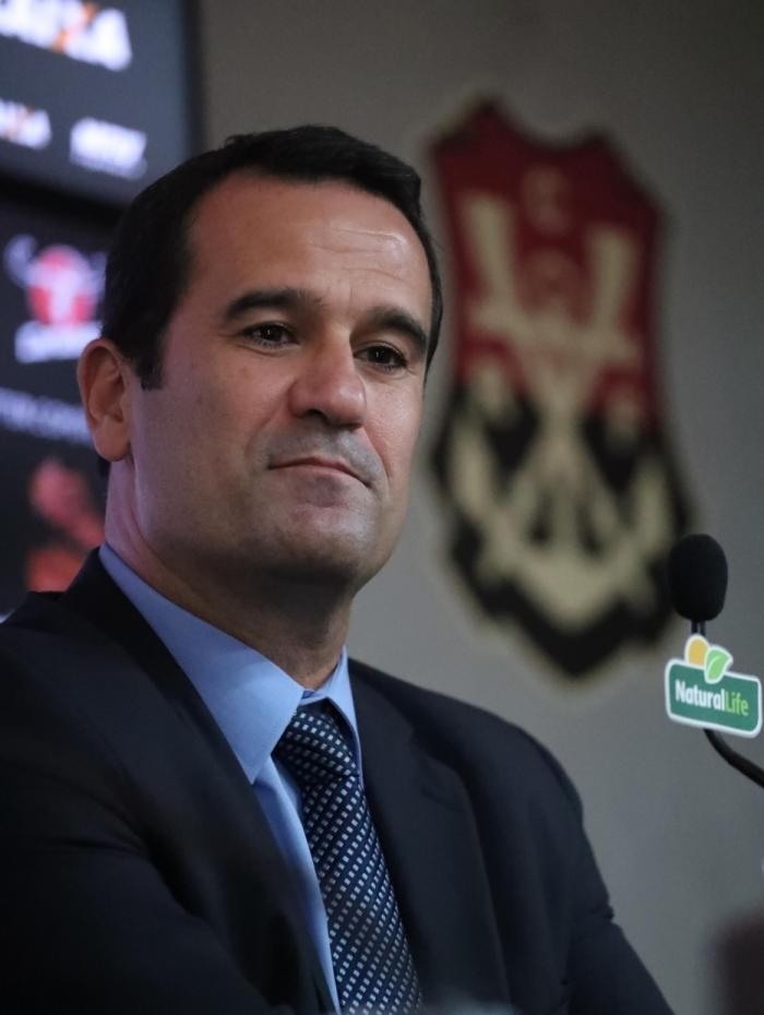 Ricardo Lomba, vice de futebol do Fla