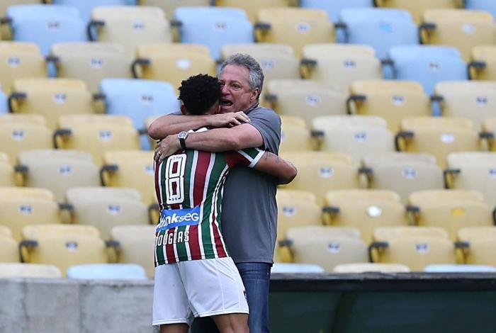 Fluminense X Ponte Preta - Campeonato Brasileiro 36 rodada, no Estádio Maracanã. Foto: Daniel Castelo Branco / Agência O Dia