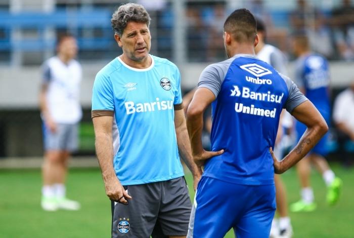 Grêmio do técnico Renato pode dar uma mãozinha aos times cariocas