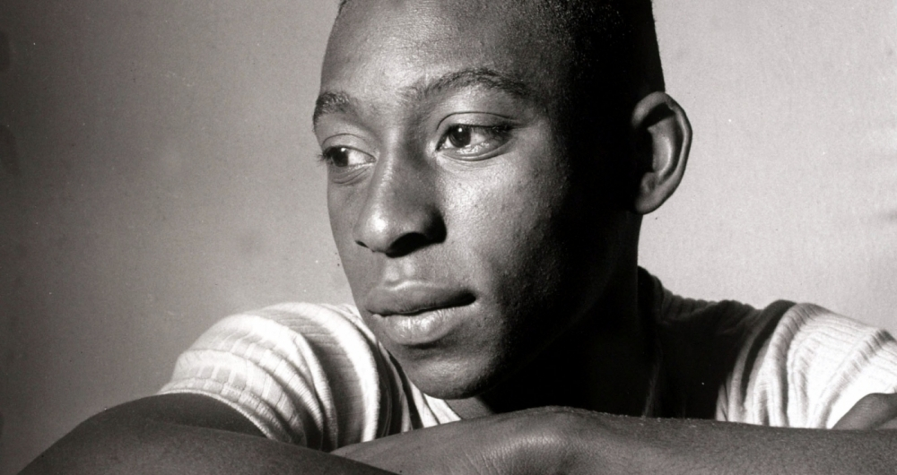 Sport, Football, circa 1958, Brazil's young internatiopnal star Pele, portrait, Pele was perhaps the most famous footballer of all time and featured in 4 World Cups,forced out of the finals in Chile in 1962 and England in 1966 through injury he won 2 World Cup winners medals with Brazil playing in the successful teams of 1958 in Sweden, at the age of 17, and the famous 1970 team which won the World Cup in Mexico  (Photo by Popperfoto/Getty Images)