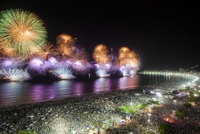 Prefeitura do Rio autorizou 80 eventos no réveillon