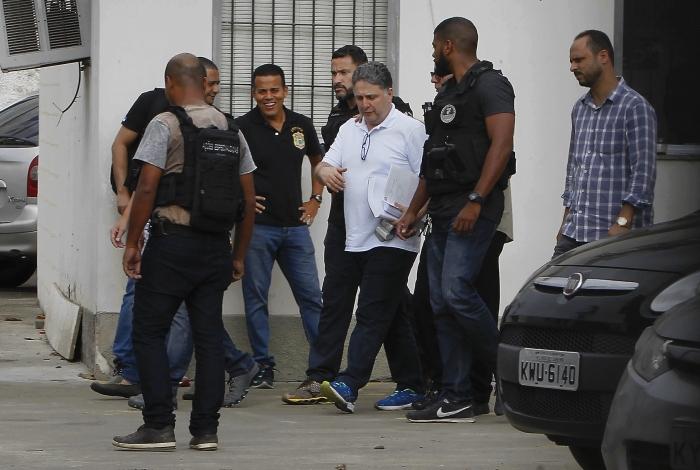 Garotinho é acusado de intimidar e extorquir empresários que atuavam em Campos e está em Bangu 8