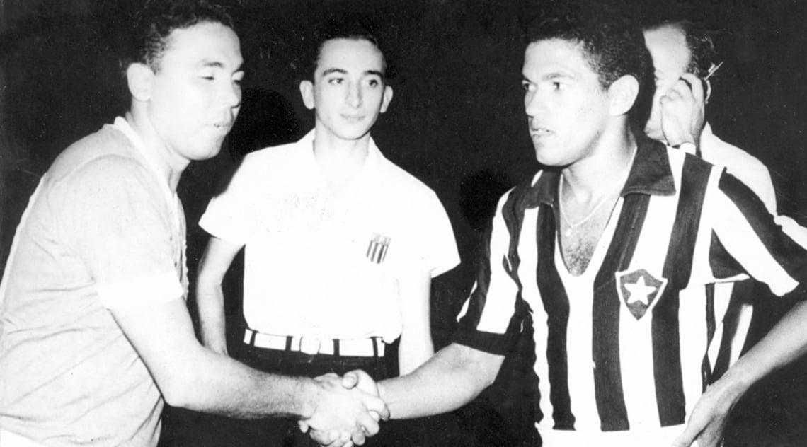 Garrincha disputou 614 partidas pelo Botafogo