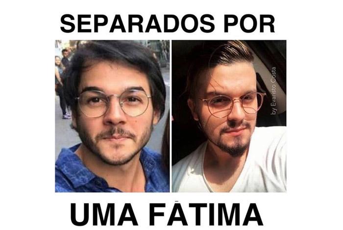 Evaristo Costa faz piada com semelhança entre namorado de Fátima Bernardes e Luan Santana