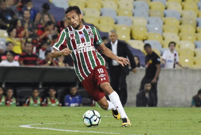 Gustavo Scarpa saiu do Fluminense e foi para o Palmeiras