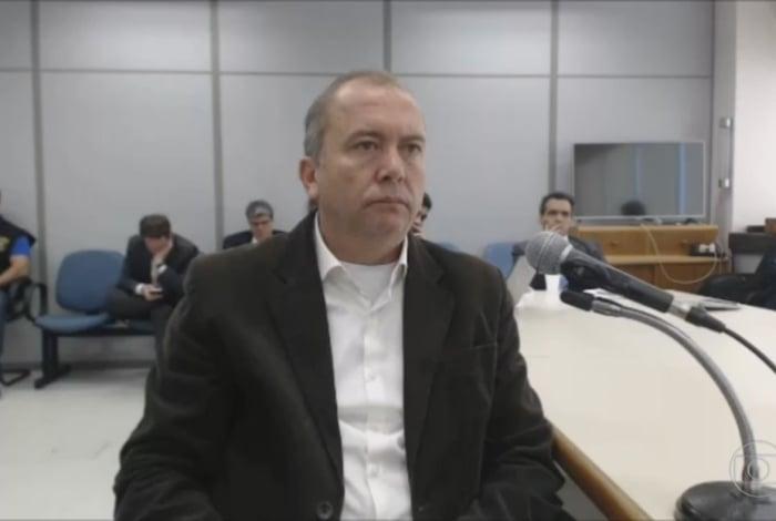 Carlos Miranda em depoimento ao juiz Marcelo Bretas, da 7ª Vara Criminal da Justiça Federal