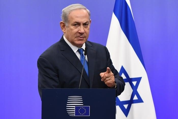 Benjamin Netanyahu, primeiro-ministro israelense, comemorou o resultado