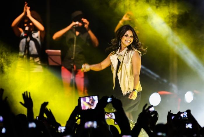 Aline Barros vai fazer show em Nova Iguaçu