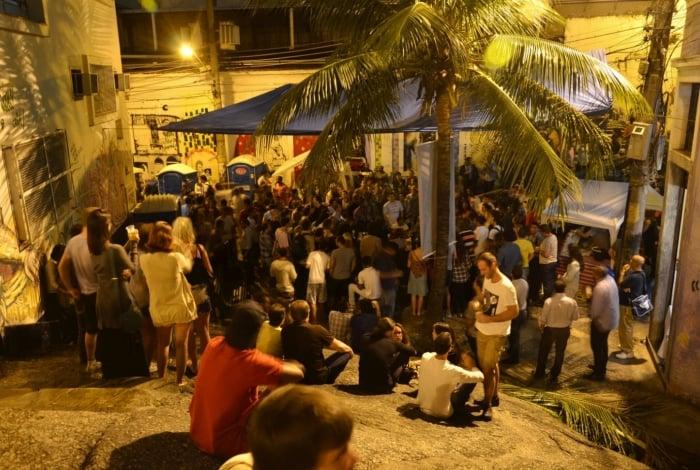 15/04/2013. Samba na Pedra do Sal - Zona Portuária - Rio de Janeiro - Foto: Alexandre Macieira | Riotur