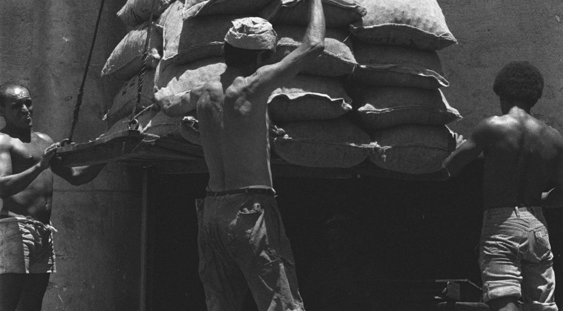 Num tempo em que produtos importados eram raros e muitos caros por aqui, a chegada das castanhas para o Natal rendia reportagens nos jornais. Foi assim em 1978, quando a equipe, com fot�grafo e rep�rter, do DIA foi at� o Porto do Rio para acompanhar o desembarque do produto natalino que chegava de Portugal.