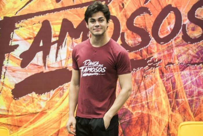 Lucas Veloso no 'Dança dos Famosos', do 'Domingão do Faustão'