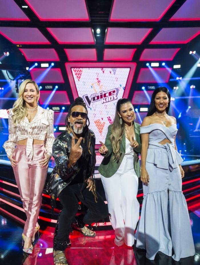 The Voice Kids 2018 - Claudia Leitte, Carlinhos Brown, Simone e Simaria