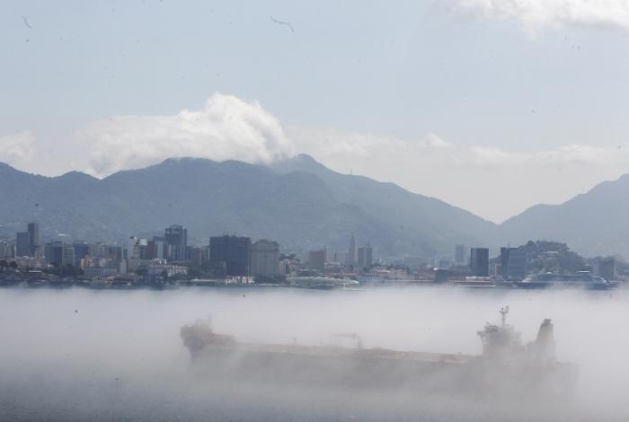 Previsão é de chuva, neblina, rajadas de vento e temperaturas em declínio