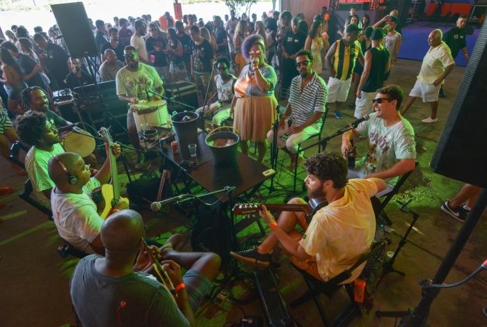 Roda de Samba do Spanta Neném -  Foto Ivanildo Carmo