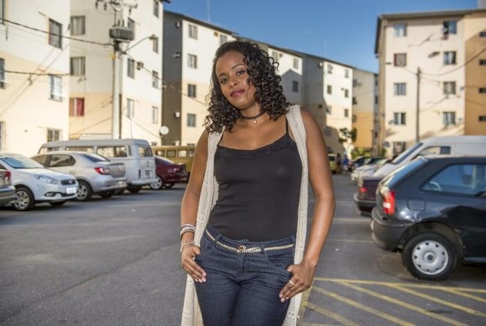 Roberta Rodrigues interpreta a Poderosa em 'Cidade dos Homens'