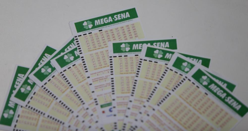 Volante da Mega-Sena. Foto: Daniel Castelo Branco