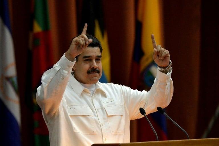Maduro, em discurso, lembrou que deu seis aumentos salariais