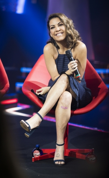 Thalita Rebouças no 'The Voice Kids'