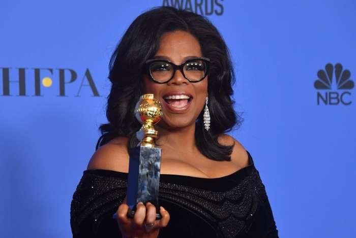 Oprah fez um discurso contra o assédio e o racismo no Globo de Ouro do ano passado