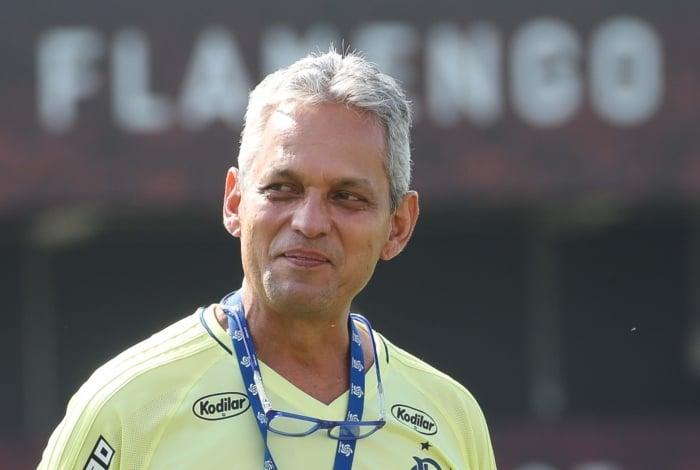 Treino do Flamengo - O técnico Reinaldo Rueda. Foto - Gilvan de Souza / Flamengo