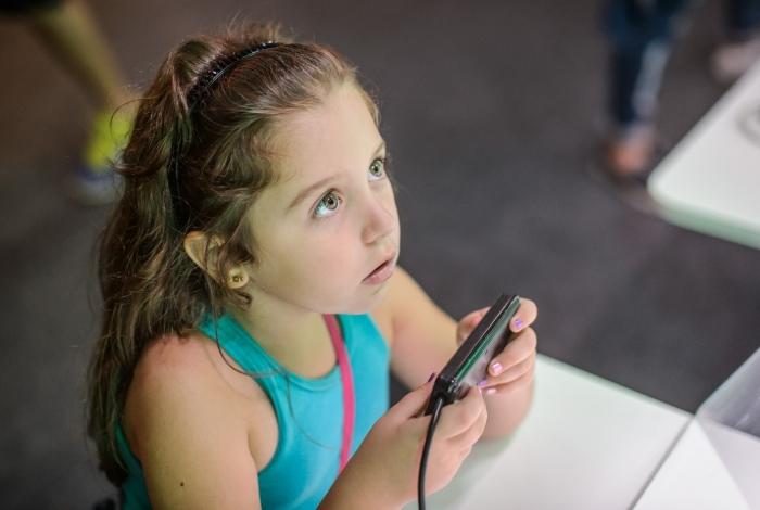 A exposição A Era dos Games é um dos eventos para crianças neste fim de semana.