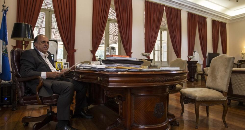 Governador Pezão disse que a prioridade, agora, é pagar o 13º de 2017