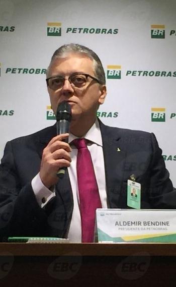 Ex-presidente do Banco do Brasil e da Petrobras Aldemir Bendine