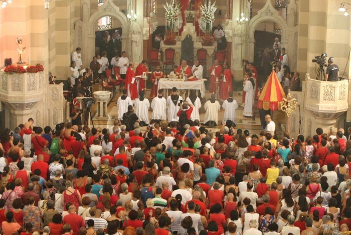 Tradicionais missas em homenagem ao padroeiro ocorrerão de hora em hora na Igreja dos Capuchinhos