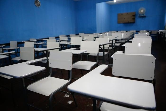 Apesar de a média da frequência dos alunos ter sido abaixo do normal, apenas seis (0,4%) escolas municipais não abriram nesta terça-feira